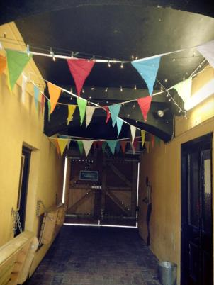 Bunting and Fairy Lights- the birth of a festival